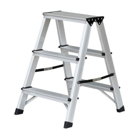 Aluminium Bockleiter 3 Stufen