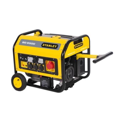 Stromgenerator Stanley 6500W SG6500 Elektrostart