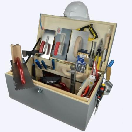 Gipser- Werkzeugkiste üK 1-3 EFZ Holz