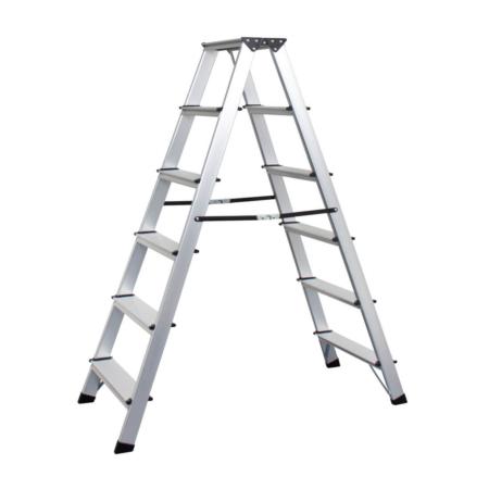 6S Bockleiter 6 Stufen